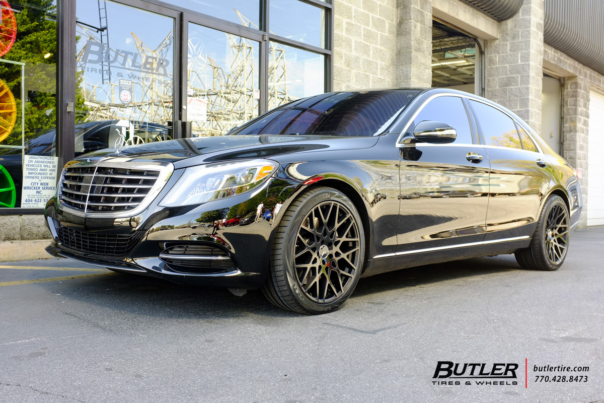 Mercedes S Class With 20in Tsw Vale Wheels Exclusively