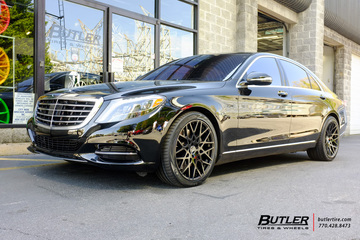 Mercedes S-Class with 20in TSW Vale Wheels