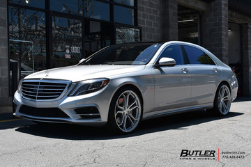 Mercedes S-Class with 22in Avant Garde M632 Wheels