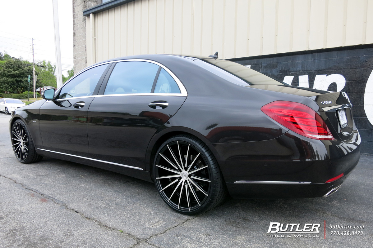 Mercedes S Class With 22in Lexani Pegasus Wheels