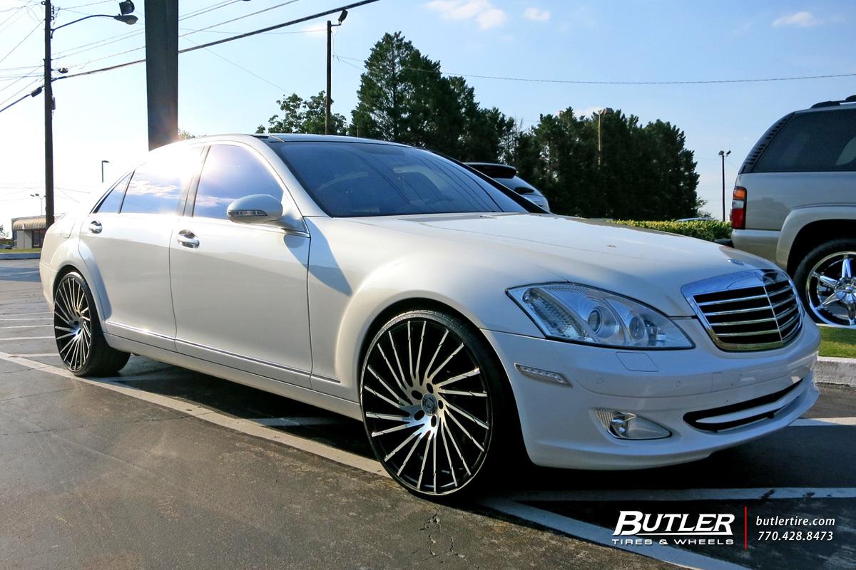 Mercedes S Class With 22in Lexani Wraith Wheels