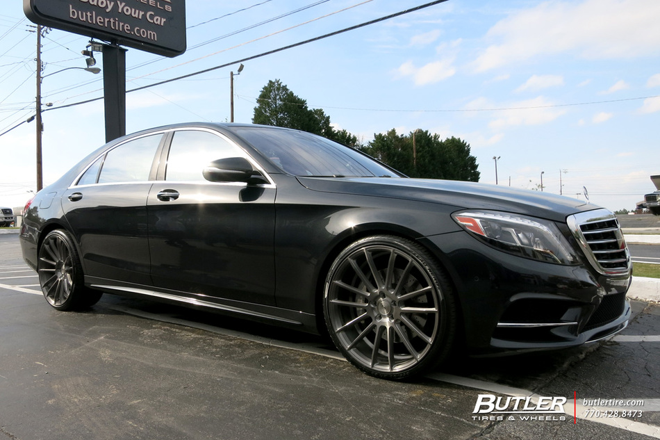 Mercedes S Class With 22in Savini Bm9 Wheels Exclusively