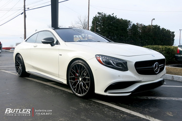 Mercedes S65 Coupe with 22in Savini SV-F4 Wheels