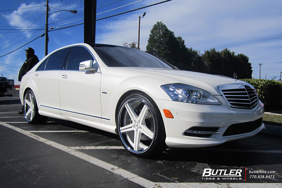 Audi Of Atlanta >> Mercedes S-Class with 22in TSW Mirabeau Wheels exclusively from Butler Tires and Wheels in ...