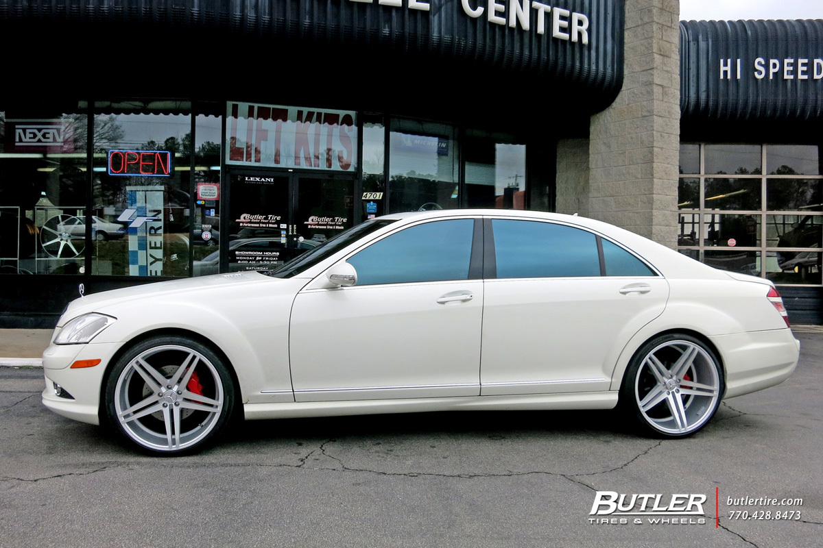 2018 S550 Mercedes Benz >> Mercedes S-Class with 22in Verde Parallax Wheels exclusively from Butler Tires and Wheels in ...