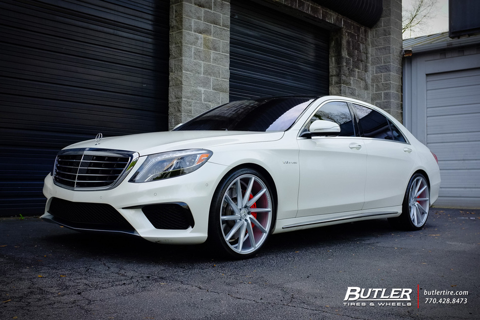 Mercedes S-Class with 22in Vossen CVT Wheels exclusively ...