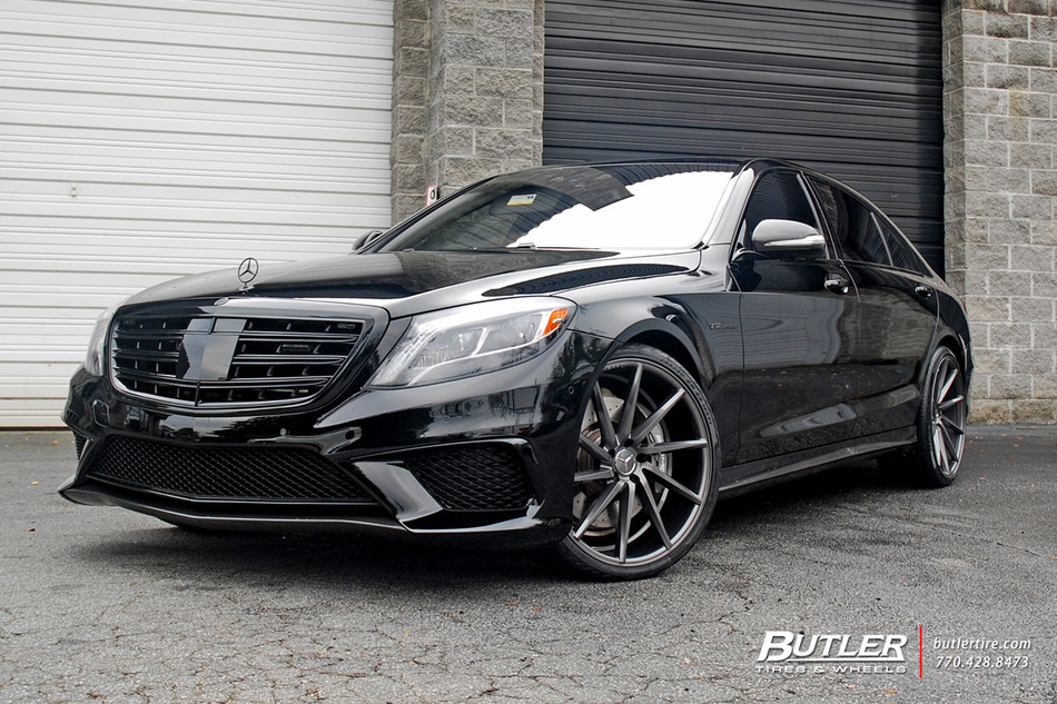 Toyota Of Atlanta >> Mercedes S-Class with 22in Vossen CVT Wheels exclusively ...