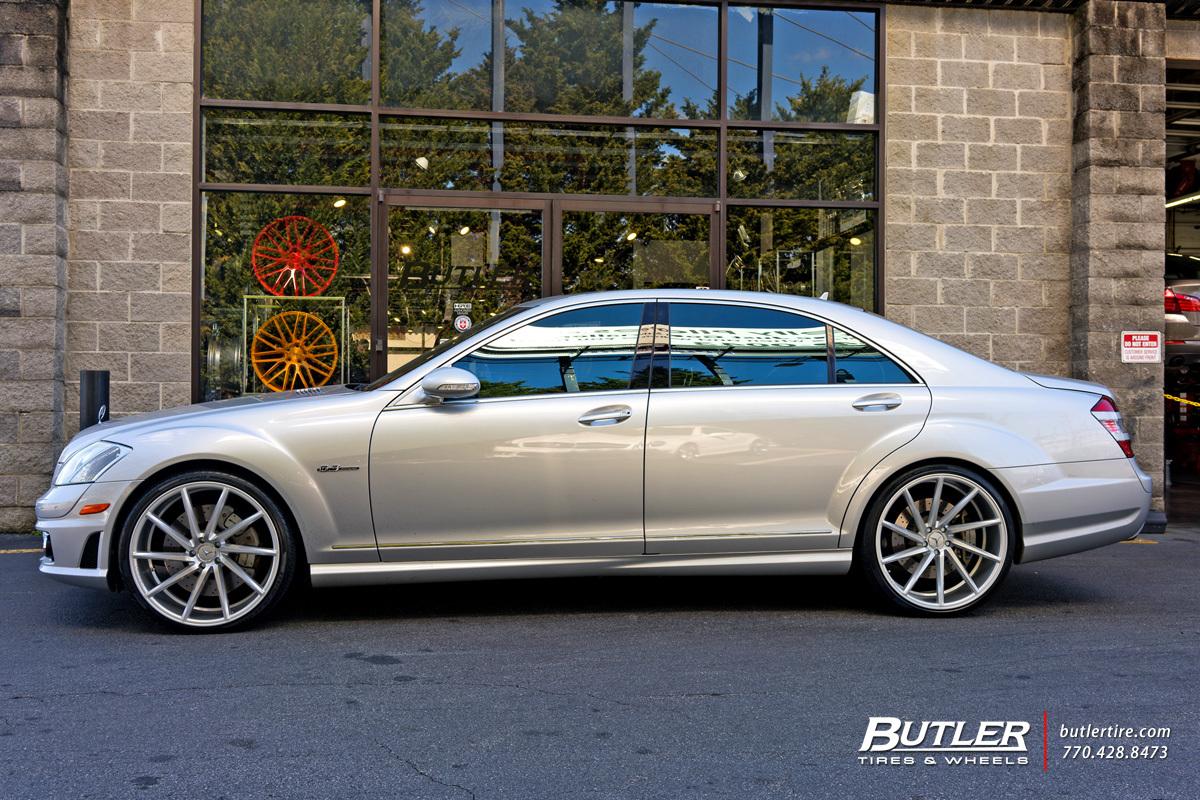 Mercedes Benz Of Buckhead >> Mercedes S-Class with 22in Vossen CVT Wheels exclusively ...