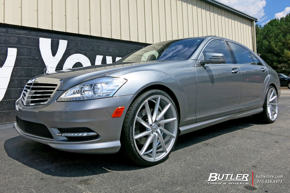 Mercedes Benz Of Buckhead >> Mercedes S-Class with 22in Vossen CVT Wheels exclusively ...