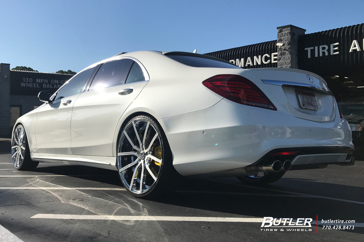 Mercedes S-Class with 24in Lexani Gravity Wheels ...