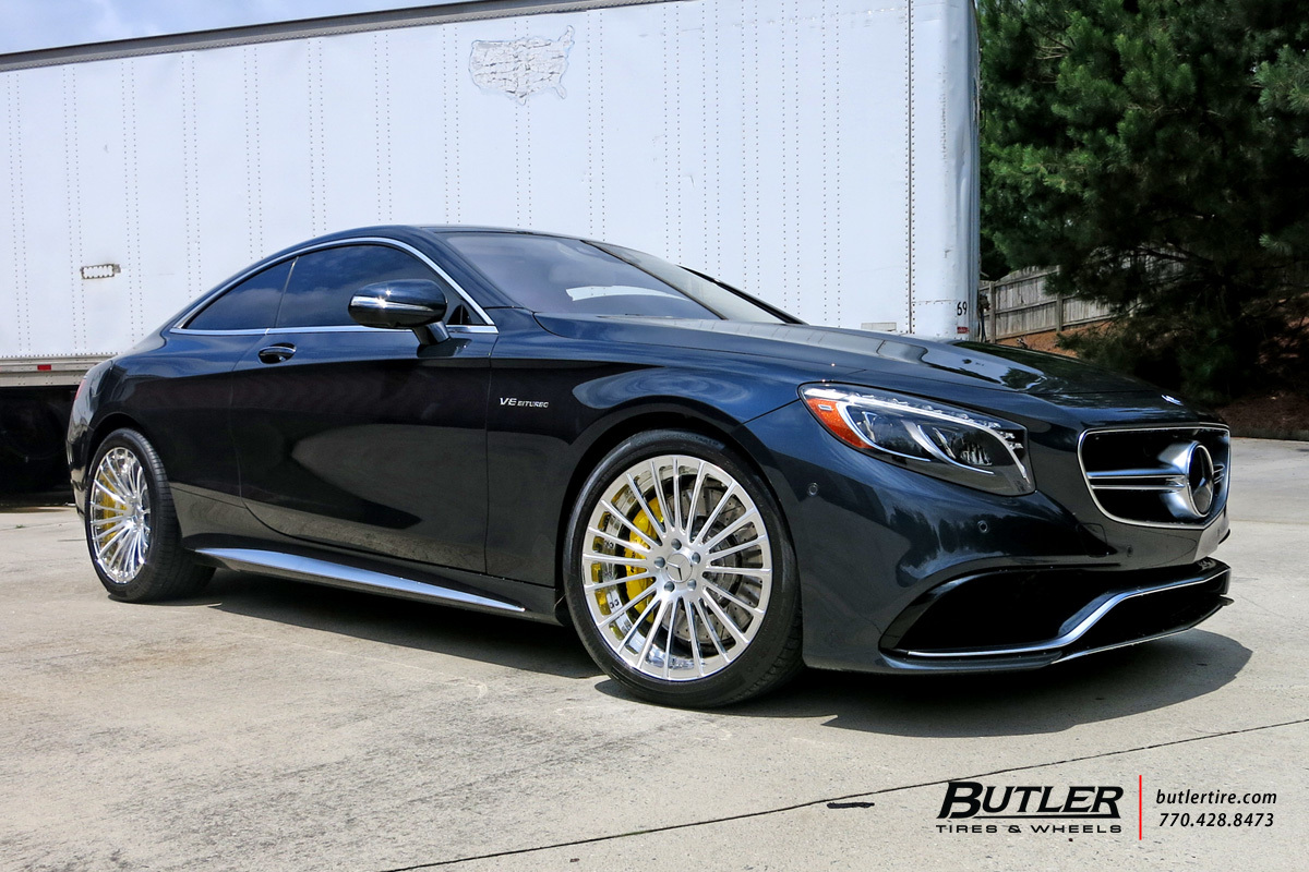 Mercedes Benz Of Buckhead >> Mercedes S-Class Coupe with 20in Savini SV61d Wheels ...