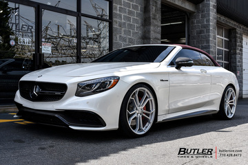 Mercedes S-Class Coupe with 22in Avant Garde M632 Wheels