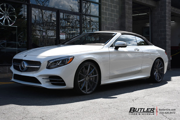 Mercedes S-Class Coupe with 22in TSW Clypse Wheels