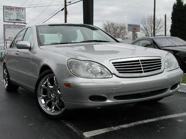 Mercedes S-Class with 20in Brabus Monoblock 5 Wheels