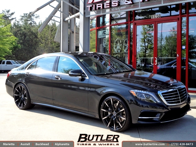 Mercedes S-Class with 22in Lexani CSS15 Wheels