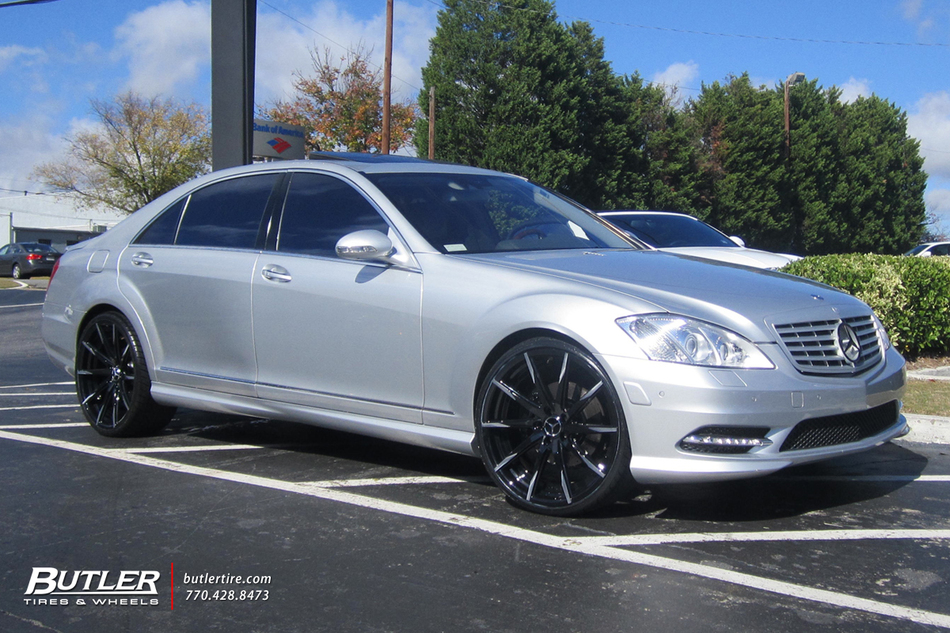 Mercedes S Class With 22in Lexani Css15 Wheels Exclusively