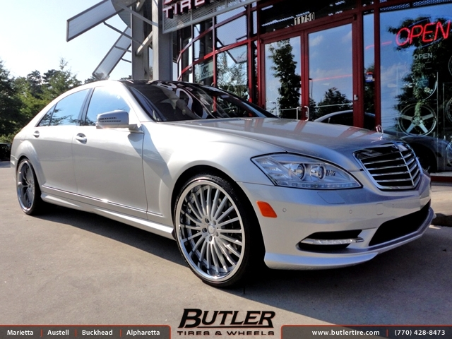 Mercedes S Class With 22in Xo New York Wheels Exclusively