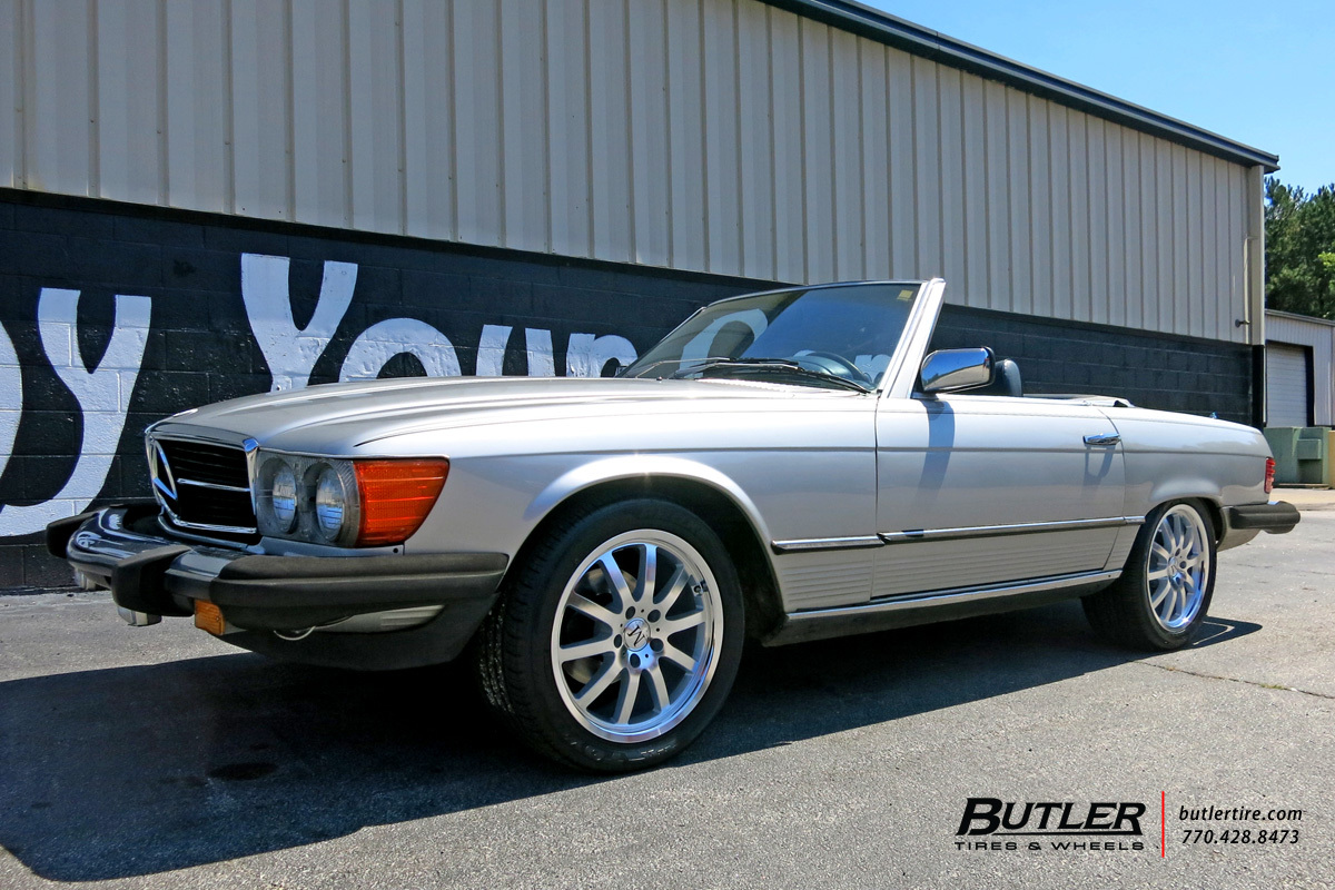 Mercedes SL-Class with 18in Mandrus Wilhelm Wheels