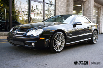 Mercedes SL-Class with 19in Niche Spec T77 Wheels
