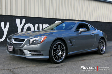 Mercedes SL-Class with 19in TSW Yas Wheels