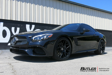 Mercedes SL-Class with 20in HRE FF01 Wheels
