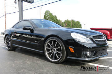 Mercedes SL-Class with 20in Lexani CVX55 Wheels
