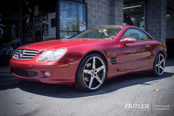 Mercedes SL-Class with 20in Lexani Invictus Wheels