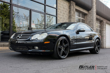 Mercedes SL-Class with 20in Mandrus Estrella Wheels