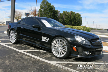 Mercedes SL-Class with 20in Mandrus Rotec Wheels