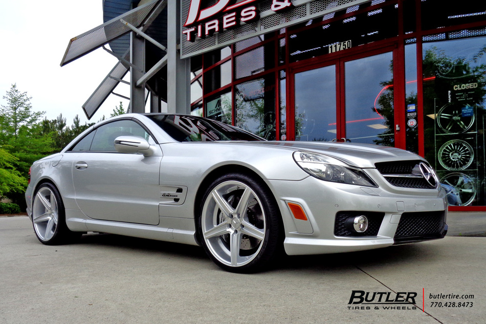 Mercedes Sl Class With 20in Niche Apex Wheels Exclusively