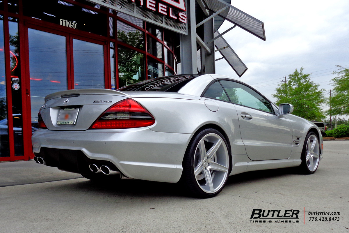Mercedes SL-Class with 20in Niche Apex Wheels