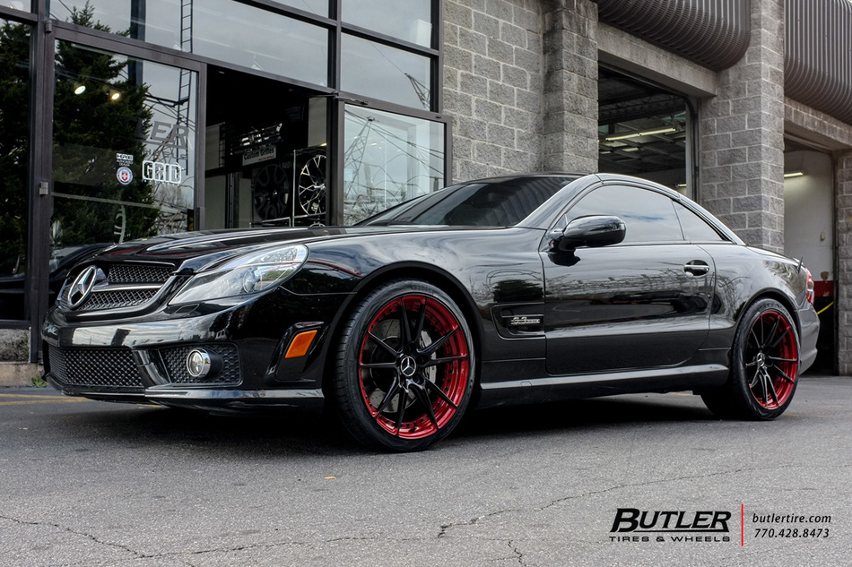 Mercedes SL-Class with 20in Niche Grand Prix Wheels exclusively from Butler Tires and Wheels in ...