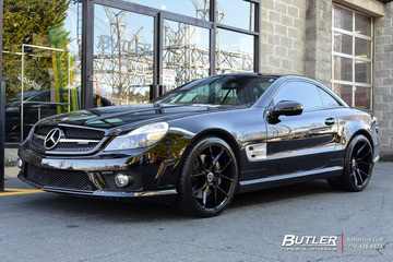 Mercedes SL-Class with 20in Savini BM14 Wheels