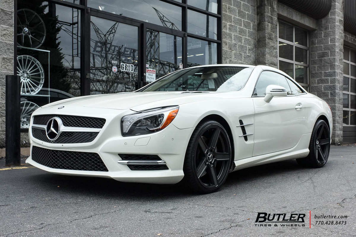 Mercedes SL-Class with 20in TSW Ascent Wheels