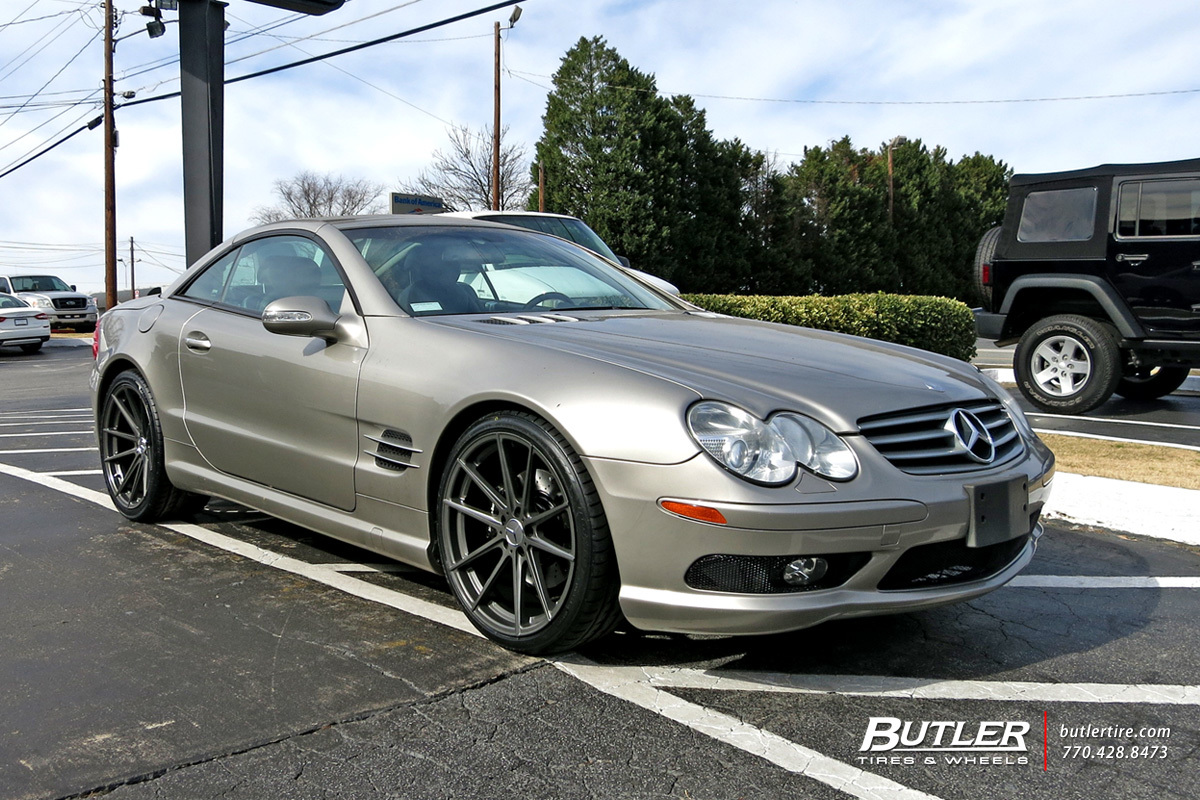 Mercedes SL-Class with 20in TSW Bathurst Wheels