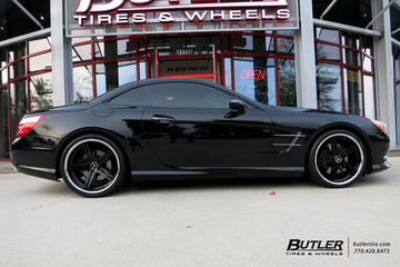 Mercedes SL-Class with 20in TSW Mirabeau Wheels