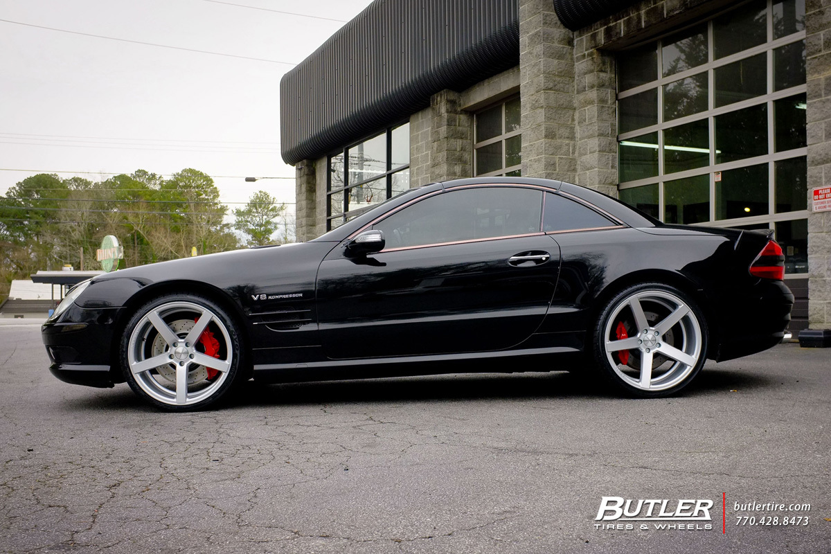 Mercedes Benz Of Buckhead >> Mercedes SL-Class with 20in Vossen CV3-R Wheels ...