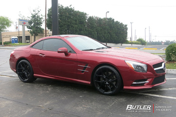 Mercedes SL-Class with 20in Vossen HF-5 Wheels