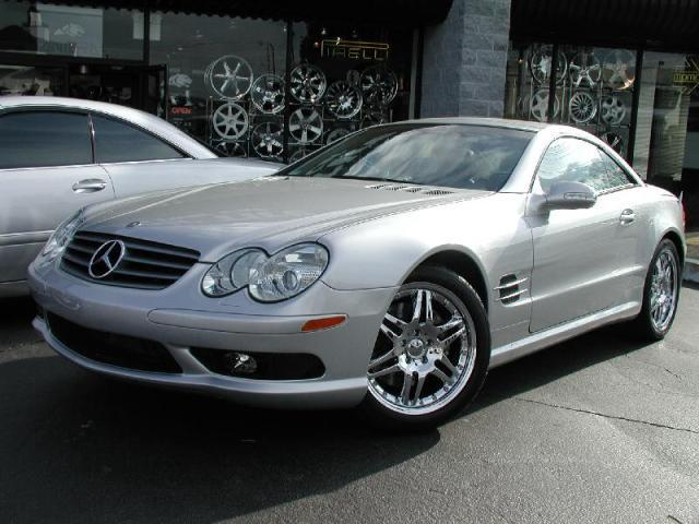 Mercedes SL-Class with 18in Brabus Monoblock 6 Wheels