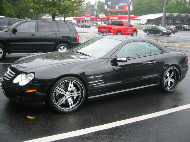 Mercedes SL-Class with 20in Autocouture Malice 5 Wheels