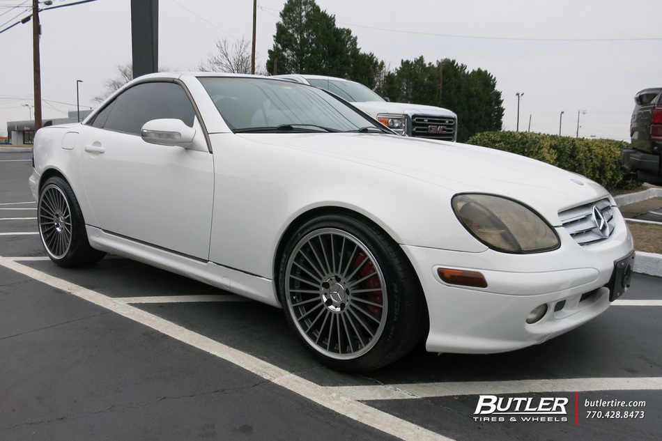 Audi Of Atlanta >> Mercedes SLK with 18in Mandrus 23 Wheels exclusively from ...