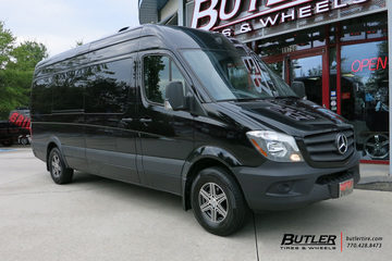 Mercedes Sprinter with 16in Mandrus Atlas Wheels