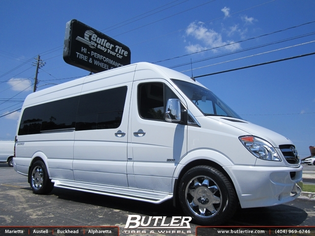 Mercedes Sprinter with 20in Lexani LX2 Wheels exclusively ...