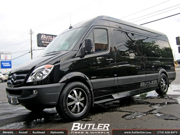 Mercedes Sprinter with 20in Savini BM5 Wheels