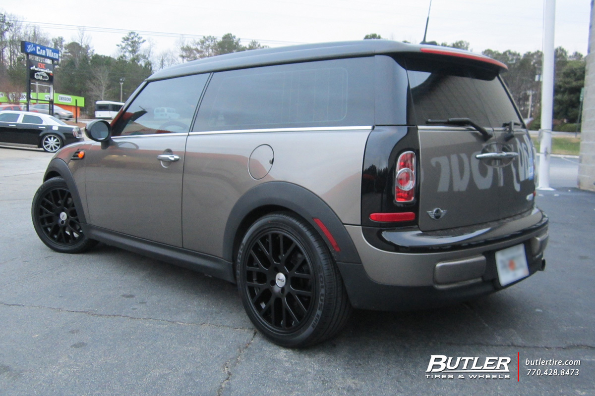 Mini Cooper Clubman With 17in Tsw Donington Wheels Exclusively From