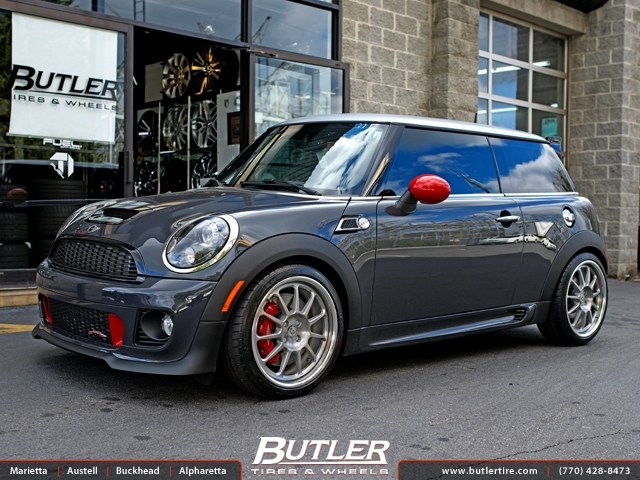 Mini Cooper GP with 18in HRE 563R Wheels