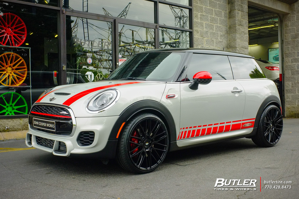 Shocks And Struts >> Mini Cooper JCW with 20in Savini BM13 Wheels exclusively from Butler Tires and Wheels in Atlanta ...