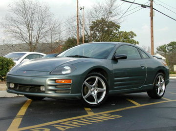 Mitsubishi Eclipse with 18in TSW Sting Wheels