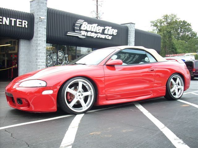 Mitsubishi Eclipse with 19in Axis Hiro Wheels