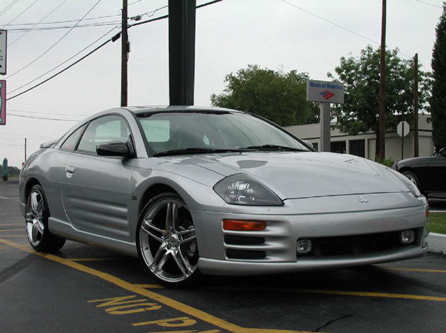 Mitsubishi Eclipse with 19in Axis Muse Wheels